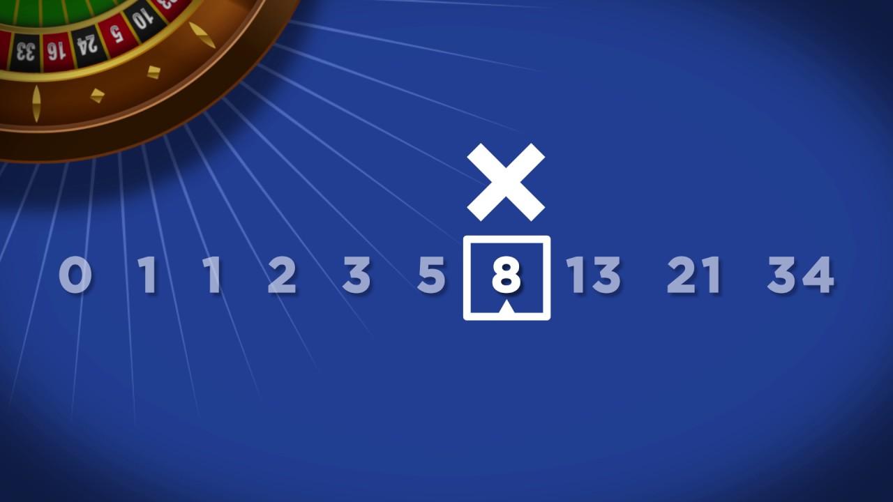 Статегия игры в рулетку Фибоначчи
